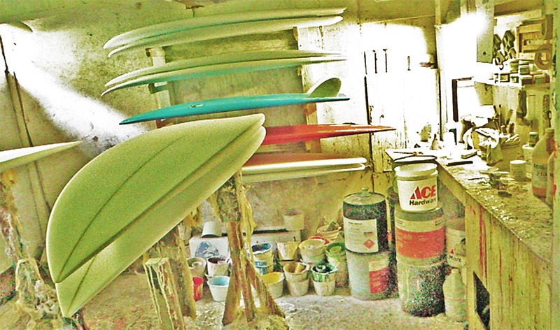 New tore surfboards