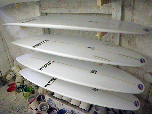 tore surfboards for japan