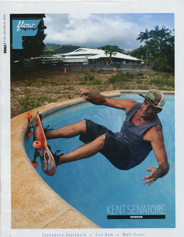 flow magazine with kent senatore
