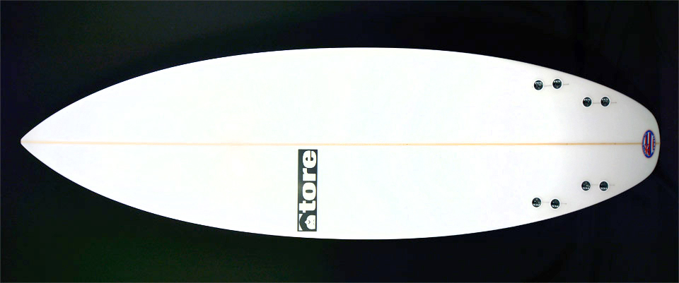 flavor 59 tore surfboard