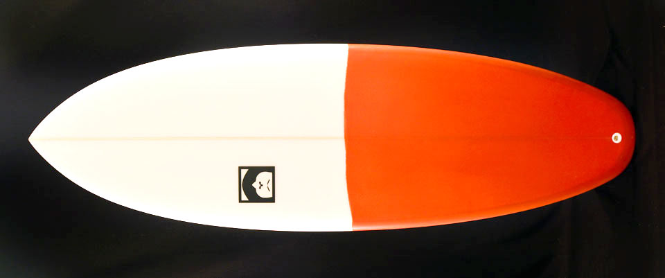 happy smile tore surfboard
