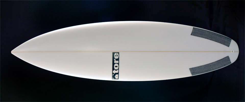 launch tore surfboard