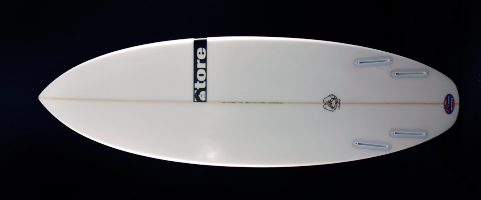 seedling tore surfboard