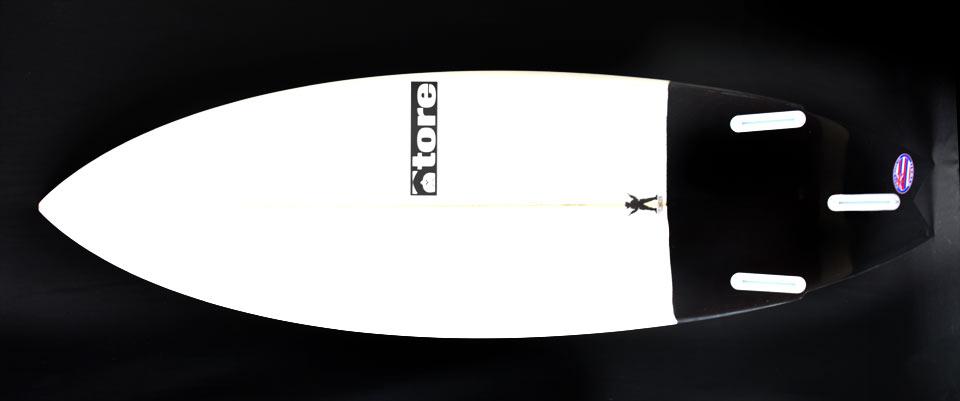 slinger tore surfboard