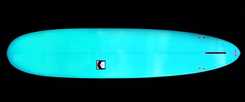 knucklehead longboard tore surfboard