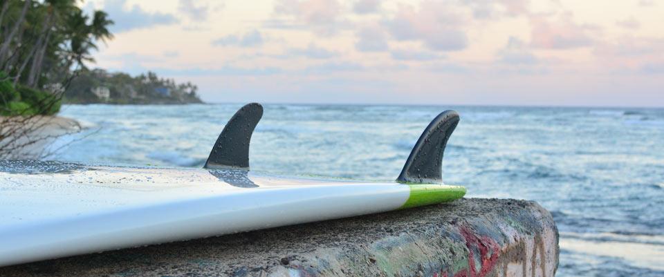 tv melt tore surfboards